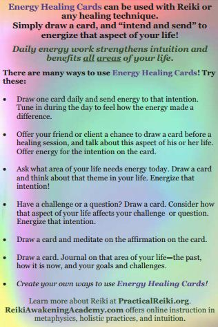 card instructions